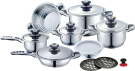 ROYALTY LINE 16B, stainless steel cookware
