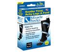 MIRACLE SOCKS, compression stockings (L-XL black)