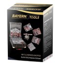 BAYERN, tools in suitcase (409 pcs.)